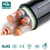 Todo tipo de aislamiento XLPE de baja tensión del cable de alimentación recubierto de PVC