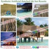 Tiki小屋のTiki棒艶出しリゾート10のための総合的なやし屋根ふき材料の人工的な屋根ふき材料