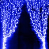 3*3m 300 luzes internas da cortina do diodo emissor de luz com conetor da cauda
