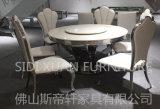 Мягкие PU/кожа и нержавеющая сталь обедая мебель гостиницы стула домашняя (CY083)