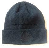 Streifen stickte Hutbeanie-Hutknit-Hüte