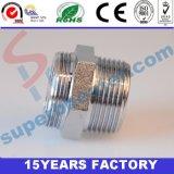 Bordes plateados del cromo del hierro de 1.5 pulgadas con el orificio 4