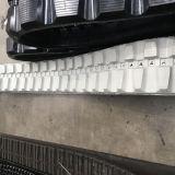 Piste en caoutchouc de chargeur de boeuf de dérapage (250*48.5K*84) pour des machines de construction