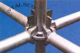 Impalcatura con sistema di bloccaggio ad anello