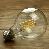 포도 수확 크리스마스 훈장 G95 LED 필라멘트 전구 커버 유리 E27 Edison 필라멘트 전구 G80 G95