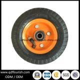 Una rotella di gomma gonfiabile pneumatica agricola da 6 pollici per il carrello