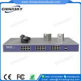 24fe Poe + 2SFP CCTV Poeスイッチ(POE2402SFP-2)