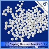 Alumina van 99% Ceramische Bal als Hittebestendigheid van de Carrier van de Katalysator Innert