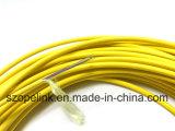 Caída de la fibra óptica FTTH Cables Cable interior 24 núcleos Cable de fibra óptica en miniatura
