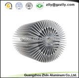 Marco de aluminio de los disipadores de calor del girasol del material de construcción