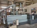 Extrudeuse de vis simple à deux étages et machine de granulation de réutilisation pour la pelletisation