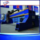 Stahlmetallherstellung-Plasma-Flamme CNC-Ausschnitt-Maschine für das Stahlaufbereiten