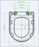 Harnstoff-schnelle Freigabe-Toiletten-Deckel-langsamer Abschluss