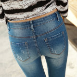Het Denim Jean Factory van de Goedkope Dame van uitstekende kwaliteit