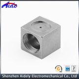 Pieza trabajada a máquina CNC de aluminio del metal de la precisión por encargo