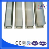 Perfil de extrusión de aluminio para uso industrial