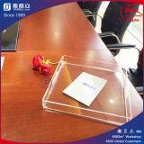 Напечатанный таможней бумажный поднос еды