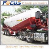 Tri Assen 60 Cbm Semi Aanhangwagen van de Tanker van het Cement van de Compressor van de Lucht de Bulk