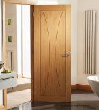 Викторианский запятнанные двери твердой древесины грецкого ореха спальни внутренне