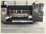 Cx-1424 sterben automatischer 2 Farbe gewellter Drucker Slotter und Scherblock