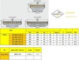 Inserto di Cutoutil per Hardmetal d'acciaio che abbina gli strumenti di macinazione standard