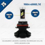 Indicatore luminoso automatico 25W 6000lm del faro LED del faro 9004 LED dell'automobile di Lmusonu 7s