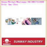 Linha de produção de extrusão e corte de tubo sem costura automática suave PE / Cosmetic
