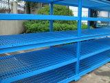 Rack de almacenamiento pertenece a la estructura de acero