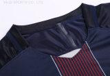 Futebol Jersey e Shorts Sleeve Treinamento Suit Set de roupas para meninos Soccer Fast Dry Polyester Soccer Jerseys