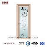 Portello di accesso di alluminio di prezzi di vetro del portello di fabbricazione della Cina