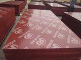Negro/rojo/marrón Film enfrenta la madera contrachapada con buena calidad