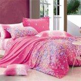 PC 4 enthalten befestigtes Blatt, Kissenbezug, Bett-Blatt-Baumwolle/Polyester