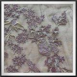 優雅な網の刺繍のレースのテュルの刺繍のレースの花の刺繍のレース