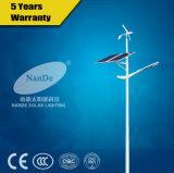 IP65 3 년 보장과 40W 바람 잡종 태양 가로등