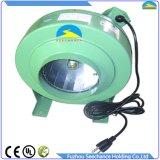 Carcaça de aço Inline circular do ventilador do duto para a conexão de câmara de ar
