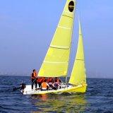 Яхта 2017 Sailing стеклоткани спорта воды новой модели с таможней логоса