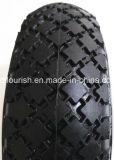Trole da mão pneu inflável do pneumático da roda do ar do Wheelbarrow de 13 polegadas
