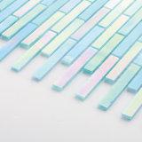 Handgemachtes 3mm Badezimmer Backsplash kleine schillernde Glasmosaik-Wand-Fliesen