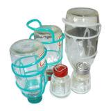 Support pour flacon de perfusion de verre