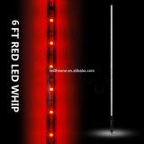 4FT 1,2 m de Fibra Óptica LED LED de Luz da Luz de antena Whip Pavilhão de Desconexão Rápida flexível para carro ATV UTV motociclo de Areia