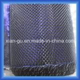 210g 3k는 사파이어 철사 은 스레드 탄소 섬유 직물을 한탄한다