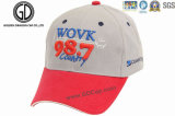 Оптовая торговля Custom бейсбола спорта с Red Hat с тканого обозначение исправлений