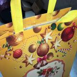 Luxueuze de Douane Afgedrukte Zak van de Gift van Kerstmis in Voorraad