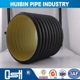 地下のパイプラインのためのSn12.5 HDPEのDouble-Wall波形の管へのSn4