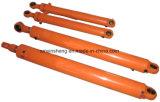 Pièces de bouteur d'excavatrice de cylindre de position de bras de boum de cylindre de pétrole de cylindre hydraulique