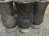 Vaso di fiore di pietra del monumento del granito/vaso della pietra tombale da vendere