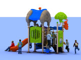 2015 atrativos prées-escolar recicl o campo de jogos plástico