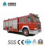 Professionnels de la mousse de l'eau d'alimentation et de camions à incendie camion de lutte contre les incendies Fire Fight chariot avec 5m3+2m3 Taille de réservoir