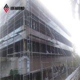 Standardgrößen-flache weiße Wand-dekoratives Aluminiuminnenpanel