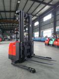 2 톤 5.5m는 넓은 다리가 강화한 깔판 쌓아올리는 기계를 걸터앉는 전기 쌓아올리는 기계를 걸터앉는다
